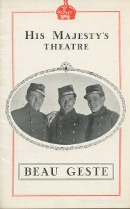 Beau Geste, starring Laurence Olivier
