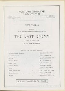 The Last Enemy, starring Laurence Olivier
