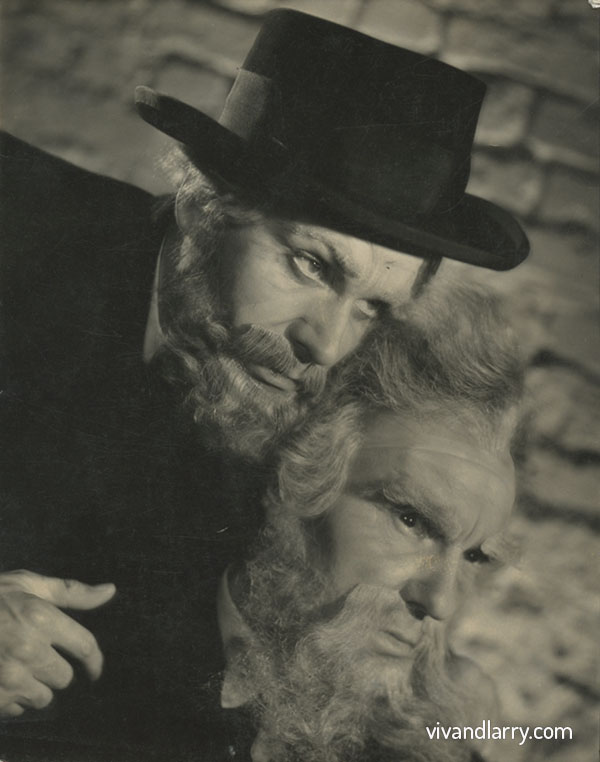Ralph Richardson and Laurence Olivier in Henrik Ibsen's Peer Gynt, 1944